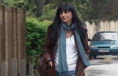 Die spanische Journalistin und Autorin Consuelo Garcia del Cid in Salzburg